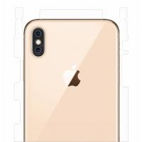 Защитная пленка на заднюю крышку для iPhone X/Xs (матовый-прозрачный)