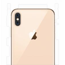 Защитная пленка на заднюю крышку для iPhone X/Xs (глянцевый-прозрачный)