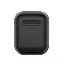 Кейс для беспроводной зарядки Baseus Wireless Charging Case для Apple AirPods (Черный)
