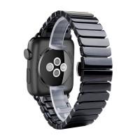 Керамический ремешок для Apple Watch 38/40mm (Черный)