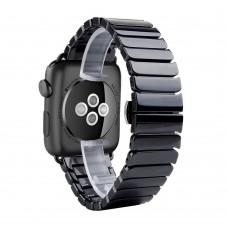 Керамический ремешок для Apple Watch 42/44мм (черный)