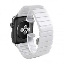 Керамический ремешок для Apple Watch 38/40mm (Белый)