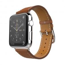 Кожаный ремешок Single Tour для Apple Watch 38/40mm (Brown)