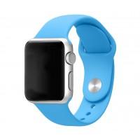 Силиконовый ремешок для Apple Watch 42/44mm (Blue)