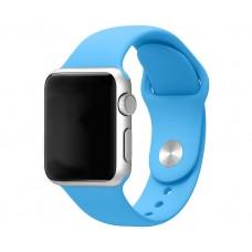 Силиконовый ремешок для Apple Watch 38/40mm (Blue)