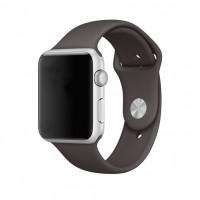 Силиконовый ремешок для Apple Watch 42/44mm (Cocoa)