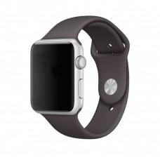 Силиконовый ремешок для Apple Watch 38/40mm (Cocoa)