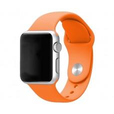 Силиконовый ремешок для Apple Watch 38/40mm (Nectarine)
