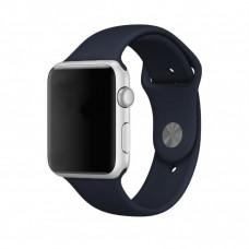 Силиконовый ремешок для Apple Watch 38/40mm (Dark Blue)