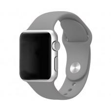 Силиконовый ремешок для Apple Watch 38/40mm (серый)