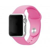 Силиконовый ремешок для Apple Watch 42/44mm (Pink)