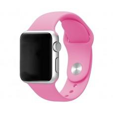 Силиконовый ремешок для Apple Watch 38/40mm (Pink)