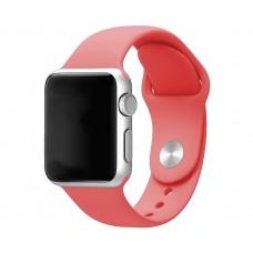 Силиконовый ремешок для Apple Watch 38/40mm (Red Carcade)