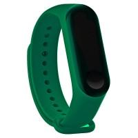 Силиконовый ремешок для Mi Band 5 (зеленый)