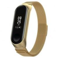 Миланский браслет для Xiaomi Mi Band 5 (золото)