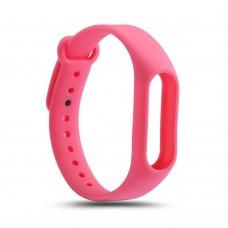 Силиконовый ремешок для Mi Band 2 (розовый)