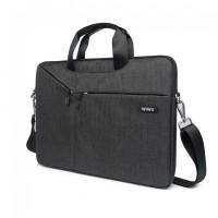 """17.3"""" Сумка для ноутбука WiWu Gent Business handbag (серый)"""