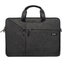 """17.3"""" Сумка для ноутбука WiWu Gent Business handbag (черный)"""