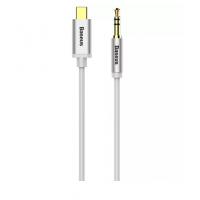 Аудио кабель Baseus CAM01-01 Type-C to 3.5 (белый)