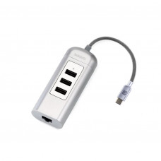TypeC Переходник Remax RU-U4 3 USB + Interface