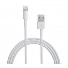 Кабель Apple Lightning 1m (белый)