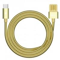 Дата кабель Remax RC-080a Type-C (золотой)