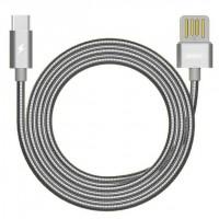 Дата кабель Remax RC-080a Type-C (серый)