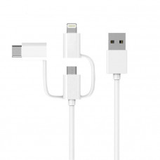 Кабель 3-in-1 Sync&Charge Cable 1м (белый)